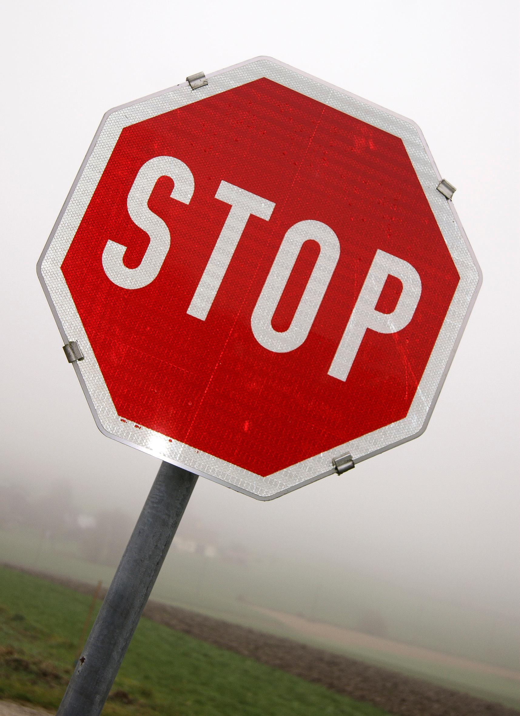 Stopp (c) www.pixabay.com