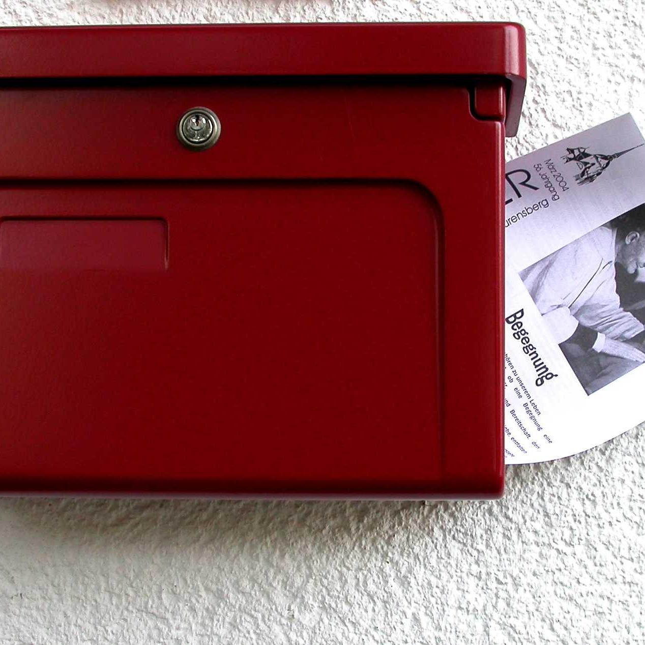 Briefkasten (c) Bild: Jürgen Damen In: Pfarrbriefservice.de