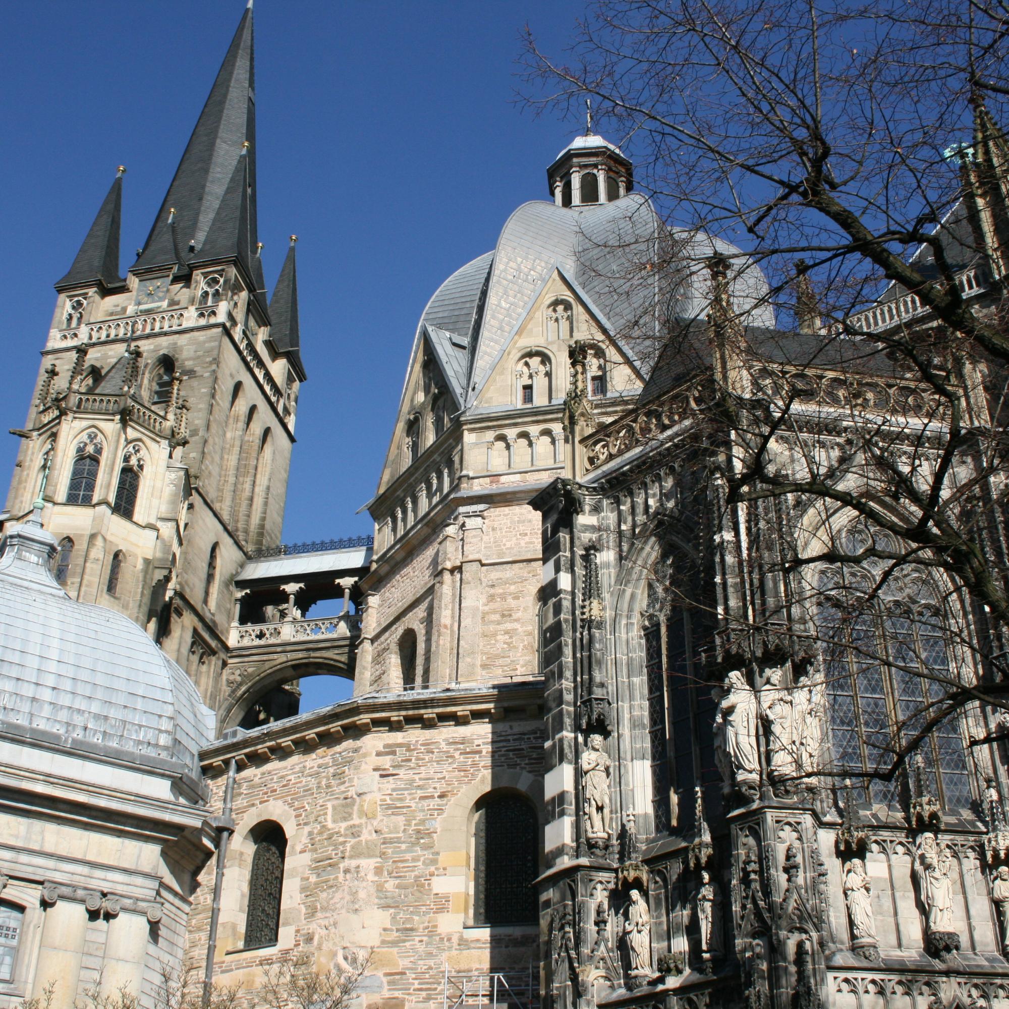 Gottesdienste im Aachener Dom live übertragen (c) Monika Herkens