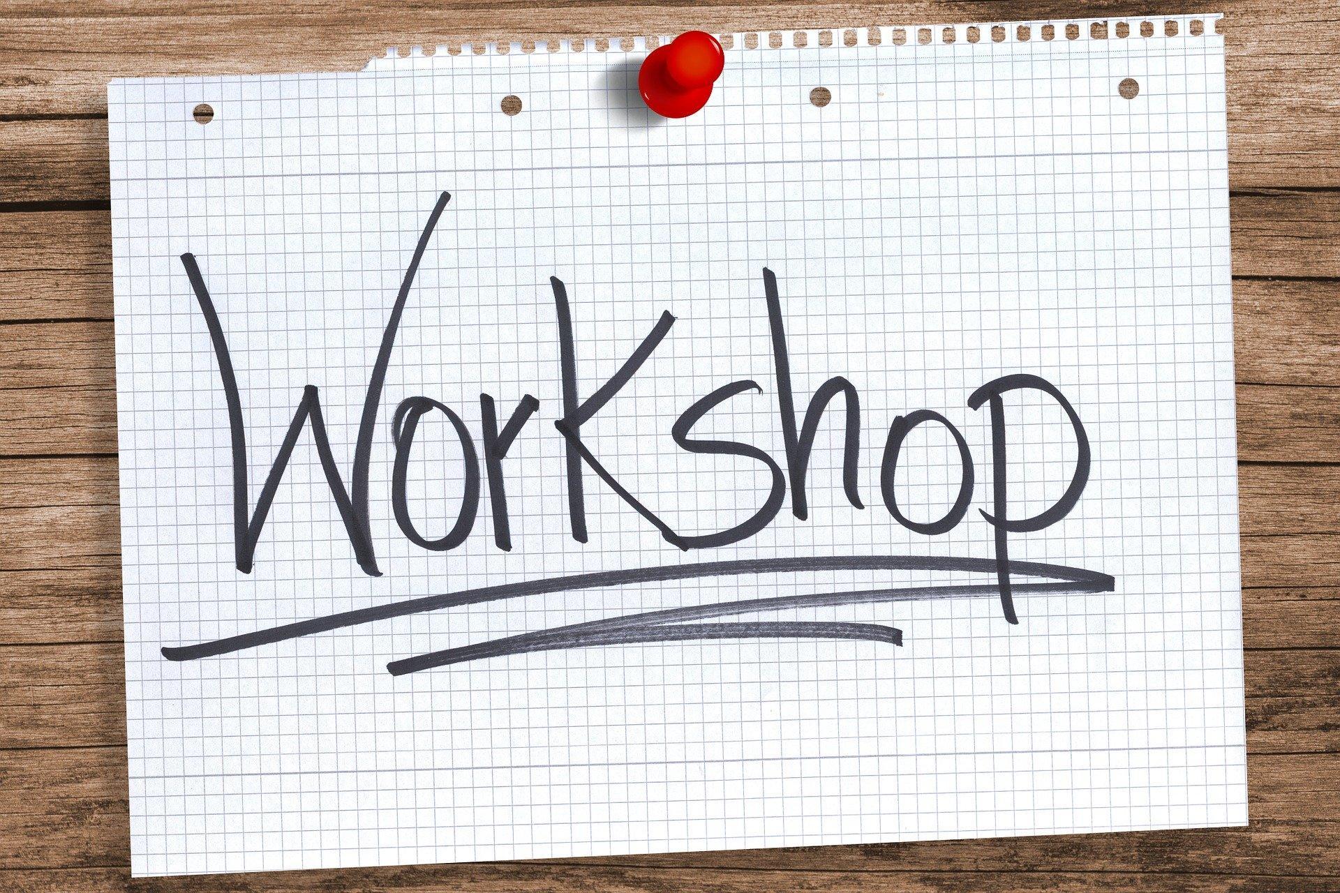 Workshop (c) Bild von Gerd Altmann auf Pixabay
